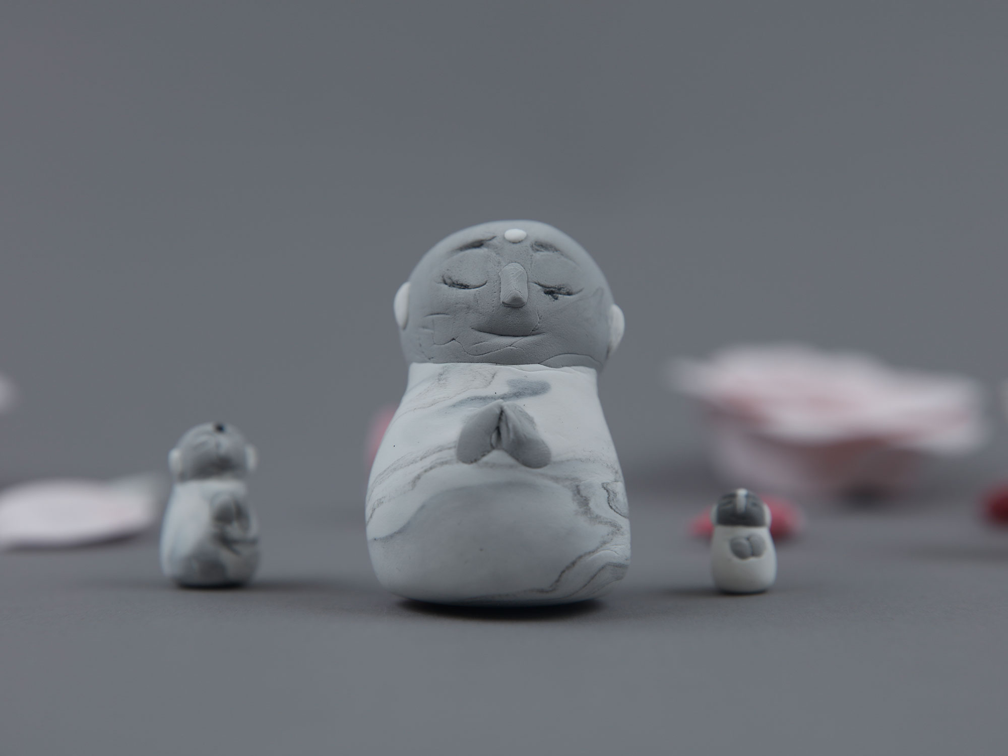 Ojizo-sama (sculpture) 2016